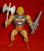 Masters of the Universe: He-Man Battle Armor - Complete Vintage Action Figure